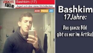Bashkim (17) - Ärgert sich über seine Wichsflecken