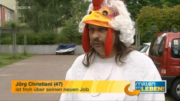 Jörg Christiani - Er ist froh über seinen Job