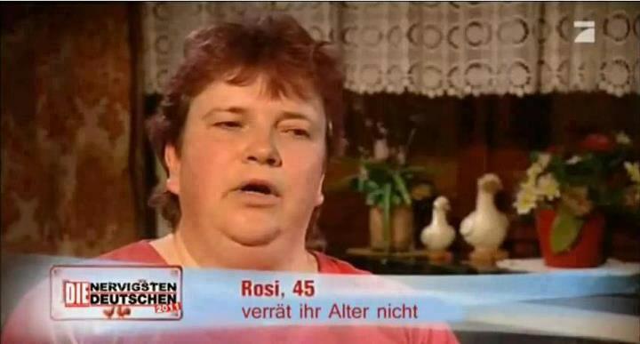 rosi verrät ihr alter nicht
