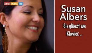 Susan Alberts - Sie glänzt am Klavier
