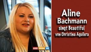 Aline Bachmann singt Beautiful von Christina Auguilera
