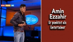 Amin Ezzahir - Er punktet als Entertainer