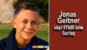 Jonas Geitner - Singt HYMN beim Casting