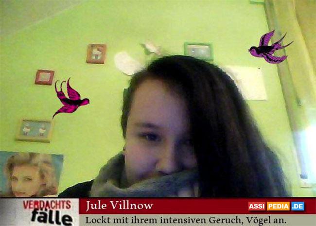 Jule Villnow - Lockt mit ihrem intensiven Geruch, Vögel an