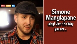 Simone Mangiapane - Singt Just the Way your are.